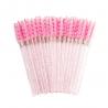 Aplikatory i szczoteczki 50 szt. Szczoteczki kolor różowy/brokat Lashes Mania 9.995 - 1