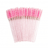 Applicators and brushes Brushes colour pink glitter - 50 szt Lashes Mania 9.995 - 1