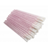Aplikatory i szczoteczki Aplikatory welurowe kolor różowy/brokat - 50 szt Lashes Mania 8.0973 - 1