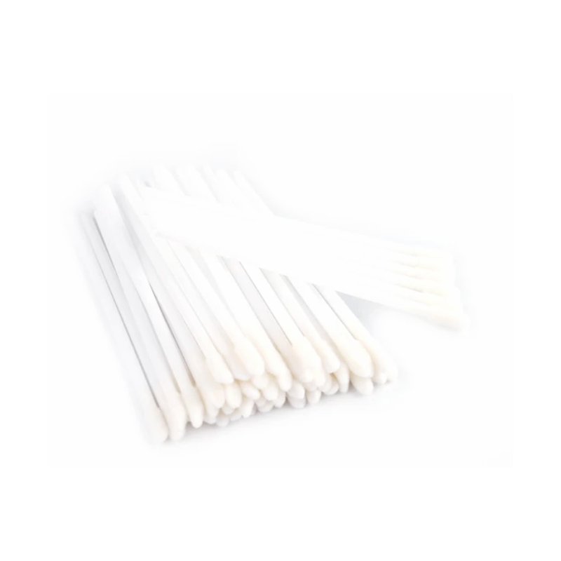 Applicators and brushes Velour applicators colour white - 50 szt Lashes Mania 8.0973 - 1