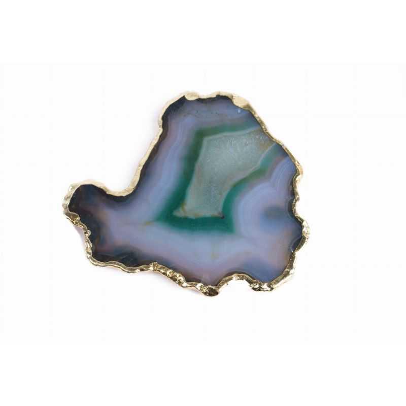 Akcesoria Zielony Kamień Agatu  - podstawka do kleju do rzęs Wonder Lashes 29 - 1