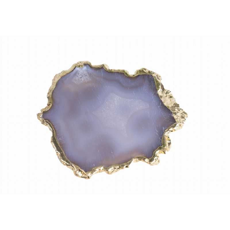 Accessories Brown Agate Stone - eyelash glue stand Wonder Lashes 29 - 1
