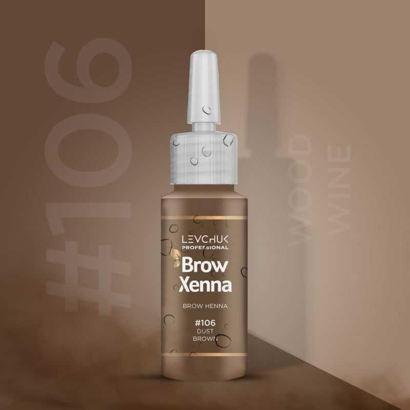 Henna i lifting 106 Dust Brown Henna firmy BrowXenna kolor Brow Xenna 139 - 1