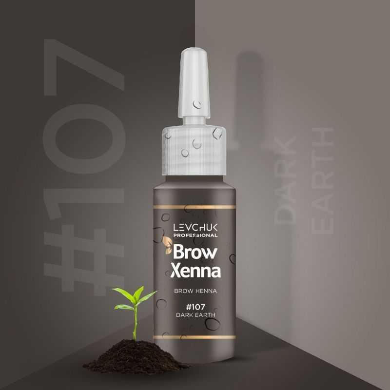 Henna Henna from BrowXenna colour 107 Dark Earth Brow Xenna 139 - 1