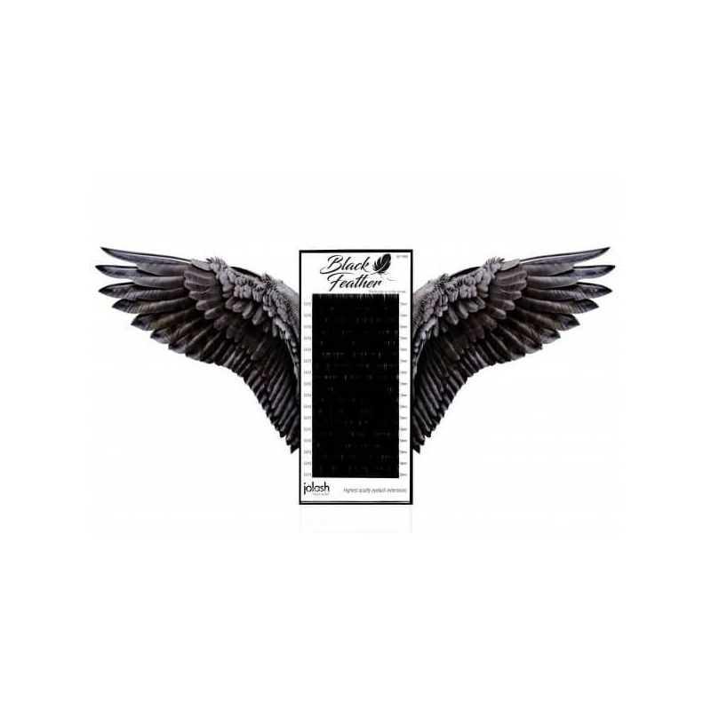 """Rzęsy w paletkach """"Black Feather"""" Rzęsy JoLash Profil C JoLash 49 - 1"""