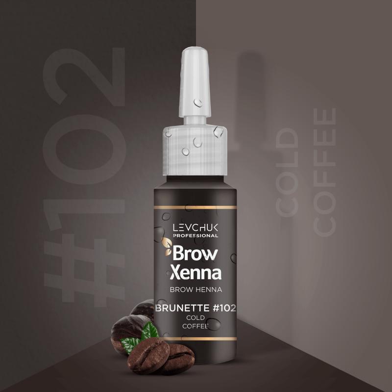 Henna i lifting 102 Cold Coffee Henna firmy BrowXenna Brow Xenna 139 - 1