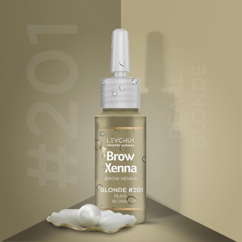 Henna i lifting 201 Pearl Blond Henna firmy BrowXenna Brow Xenna 113.98 - 1