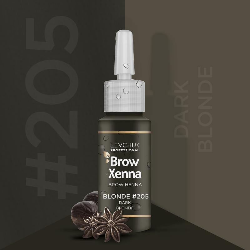 Henna i lifting 205 Dark Blond Henna firmy BrowXenna Brow Xenna 139 - 1