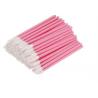 Aplikatory i szczoteczki Aplikatory welurowe kolor różowy - 10 szt Lashes Mania 6.56 - 1
