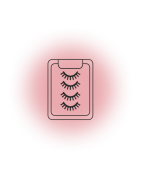 Artificial eyelashes looking like real ones - professional products from renowned manufacturers
